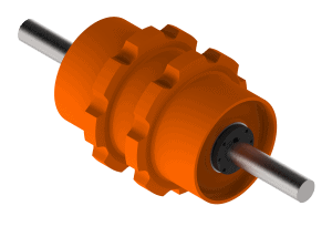A plate style drum sprocket