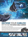 TSUBAKI'S NEW CABLE & HOSE CARRIER AD CAMPAIGN